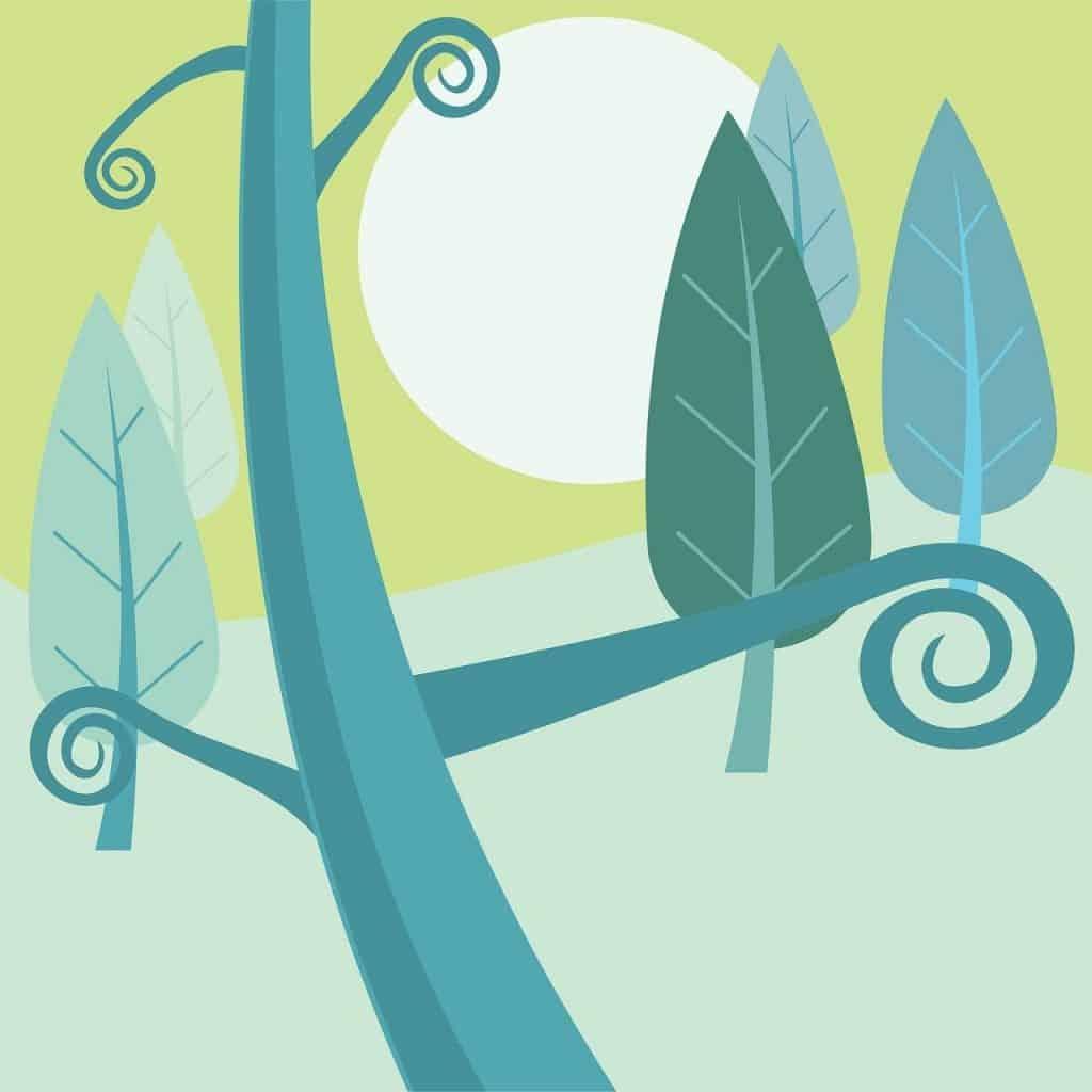 ilustracja, stonowane kolory