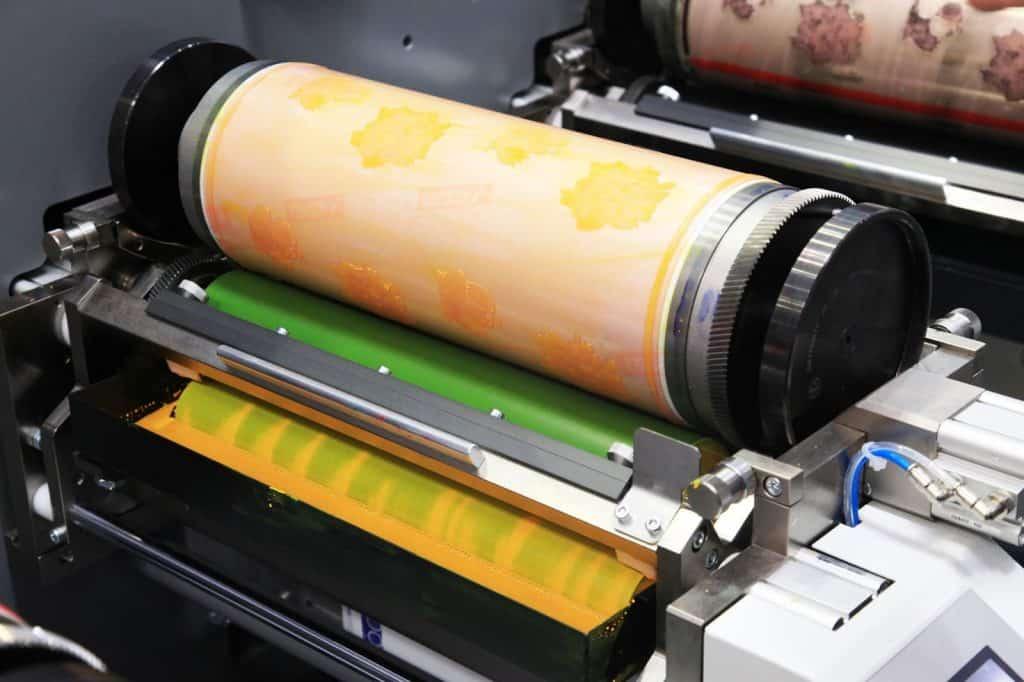 maszyna do druku offsetowego